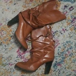 Vintage 1980s YSL boots